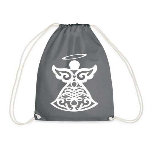 Ange gardien stylisé - Drawstring Bag