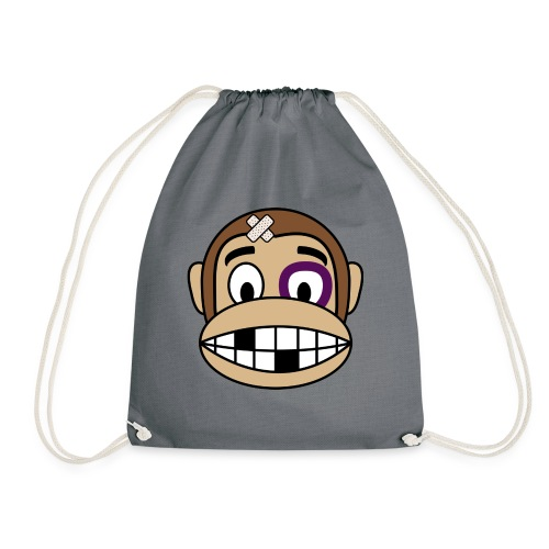 Bruised Monkey - Drawstring Bag