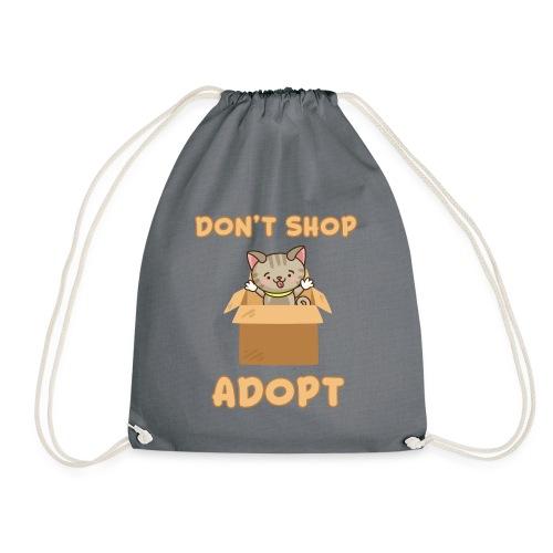 ADOBT DONT SHOP - Adoptieren statt kaufen - Turnbeutel