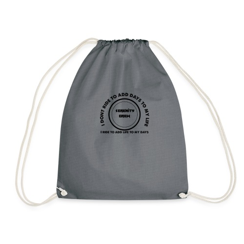 Serenity Crew Rider Quote - Drawstring Bag