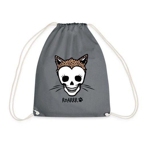 Wild-Katzen-Liebe - Turnbeutel