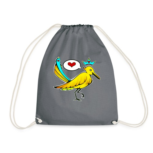 bird king - Turnbeutel