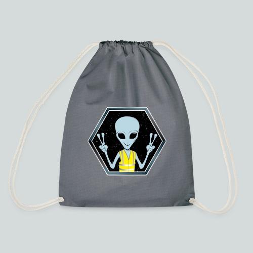 Extraterrestre Gilet jaune - Sac de sport léger
