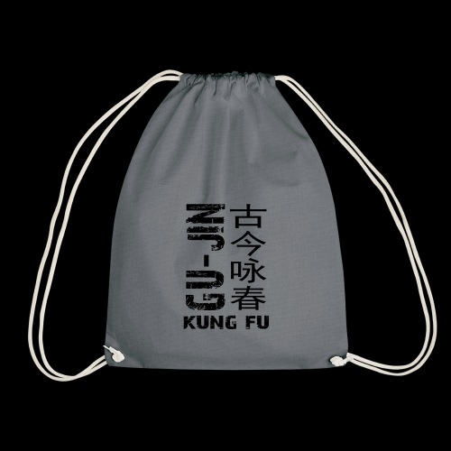 Black Logo - Drawstring Bag