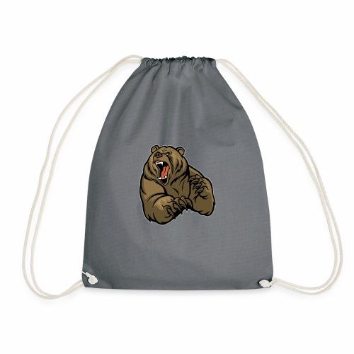 méchant grizzli - Sac de sport léger