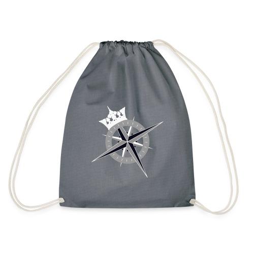 Cross on the back and Kings Fleet logo on front - Drawstring Bag