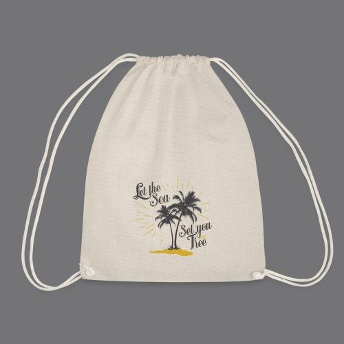 LET THE SEA SET YOU FREE Tee Shirts - Drawstring Bag