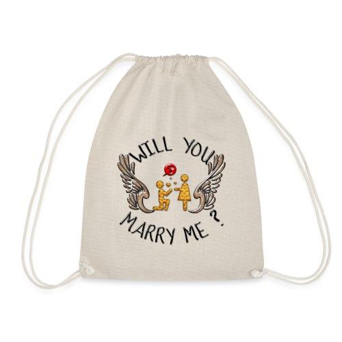 Will you marry me - Sac de sport léger