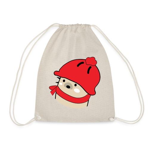 Mochie winter hat s - Drawstring Bag