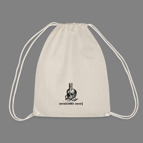 memento mori - Drawstring Bag