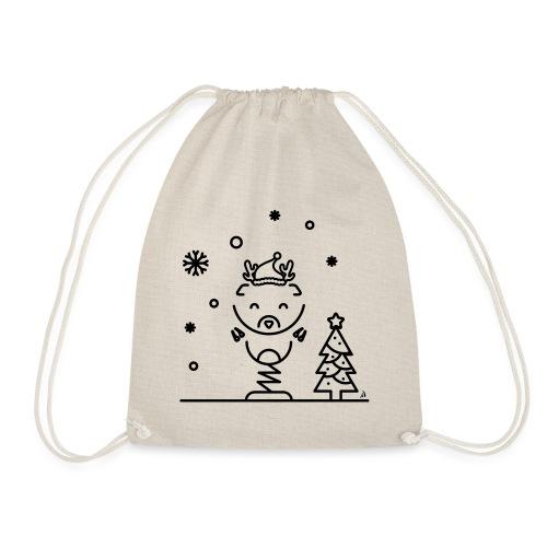 Noël reindeer 1 - Sac de sport léger