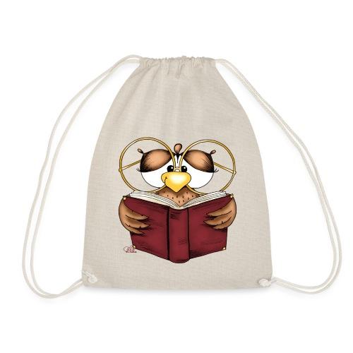 Gretchen Büchereule - Turnbeutel