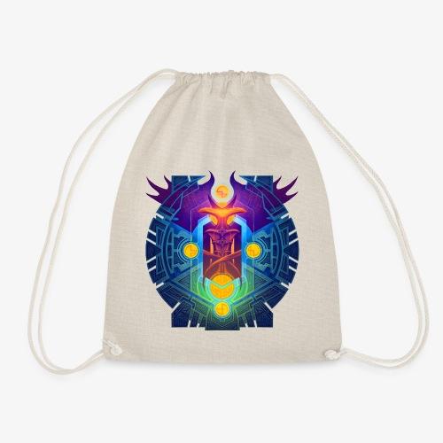 Carbon - Drawstring Bag