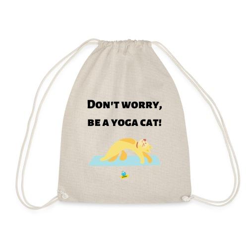 Yoga cat! - Sacca sportiva