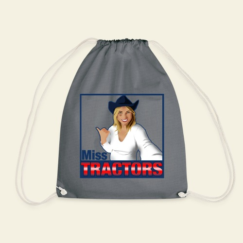 Miss Tractors Logo - Sacca sportiva