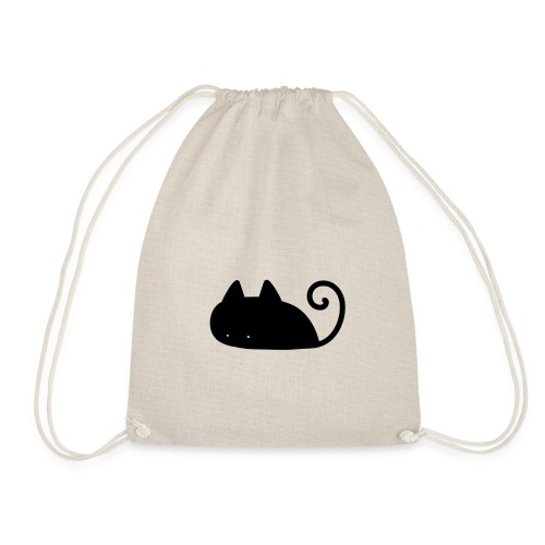 Midnight Cat - Drawstring Bag