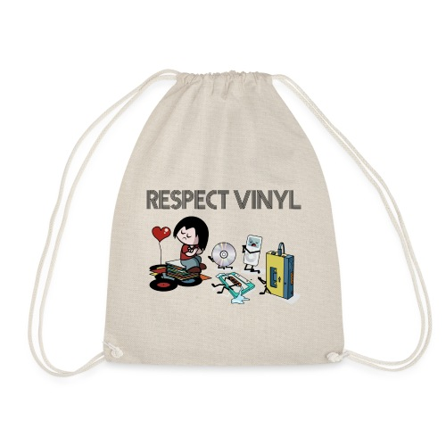 No Way • Respect Vinyl - Turnbeutel