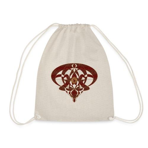 Art Nouveau Art Deco Art Nouveau Vintage Art Gold - Drawstring Bag