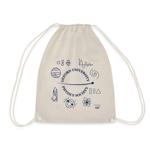 2020 OUPS Logo (Dark on Light) - Drawstring Bag