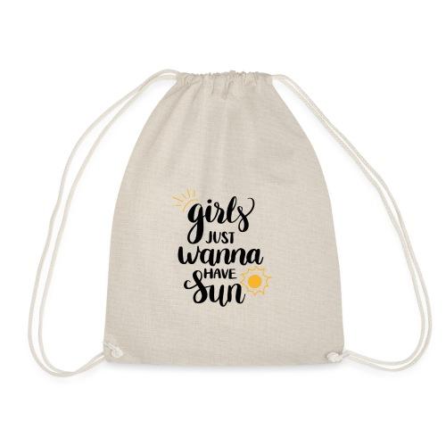 Girl just wanna have sun - Turnbeutel