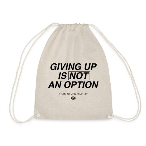 NO OPTION - Turnbeutel