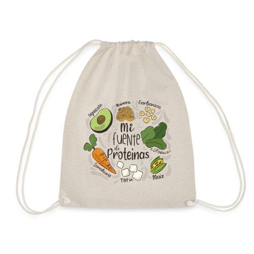 Mi fuente de proteinas - Mochila saco