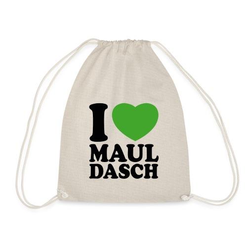 I LOVE MAULDASCH - Turnbeutel