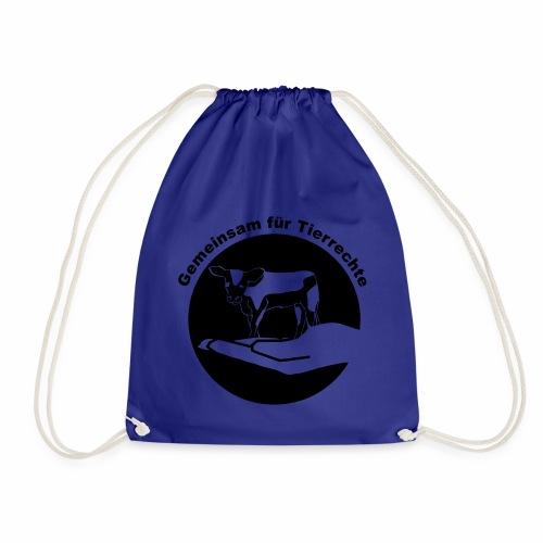 Gemeinsam fuer Tierrechte Logo - Turnbeutel