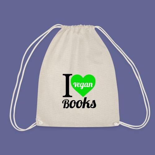 I love VEGAN books! - Turnbeutel