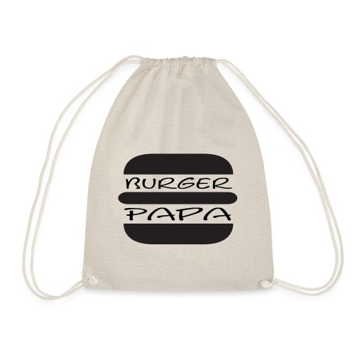Burger Papa - Der hat´s drauf - Turnbeutel