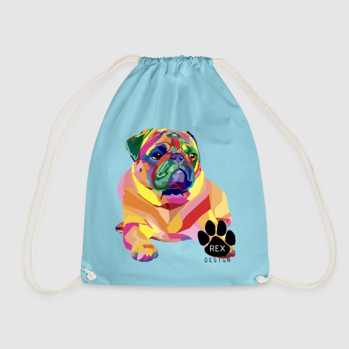 A Pug Life - Drawstring Bag