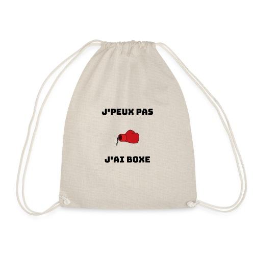 J'PEUX PAS J'AI BOXE - Sac de sport léger