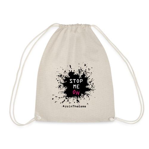 Stop me oh - Drawstring Bag