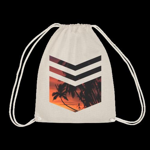 Palm Beach Triangle - Turnbeutel