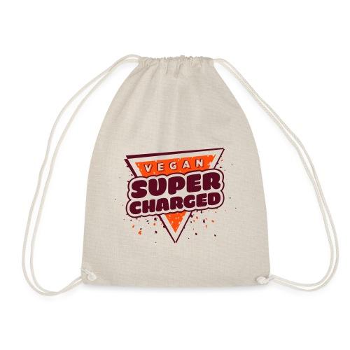 Vegan Supercharged - Drawstring Bag