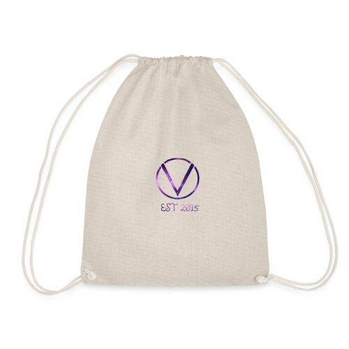 Space Logo Design - Drawstring Bag