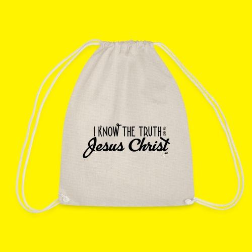I know the truth - Jesus Christ // John 14: 6 - Drawstring Bag