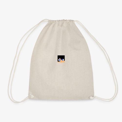 JK Gaming's Minecraft Head - Drawstring Bag