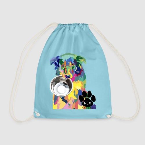#AdoptDontShop - Drawstring Bag