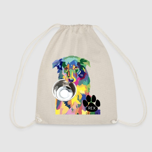 #AdoptDontShop - Drawstring Bag