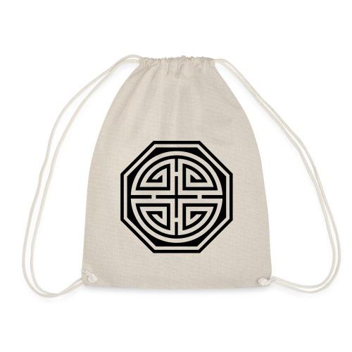Chinesisches Glücks Symbol, Four Blessings, Segen - Turnbeutel
