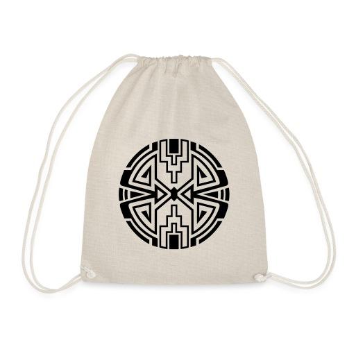 Indianer Kreis Symbol Pfeil Diamant Konzentration - Turnbeutel