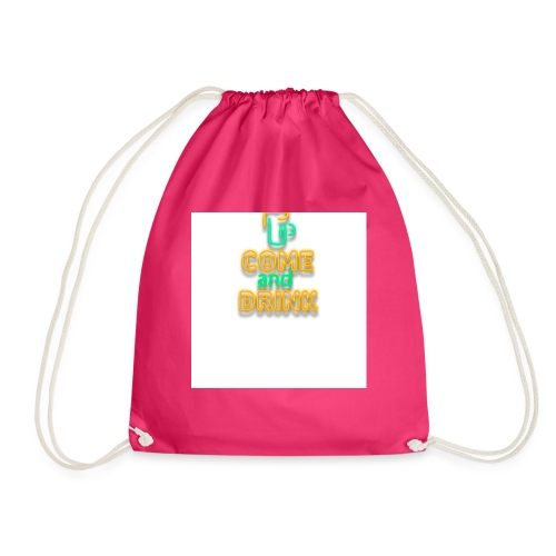 come and drink - Drawstring Bag