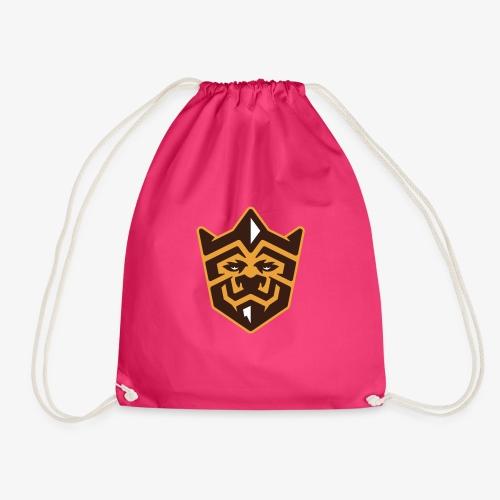 3D Lion Colour - Drawstring Bag