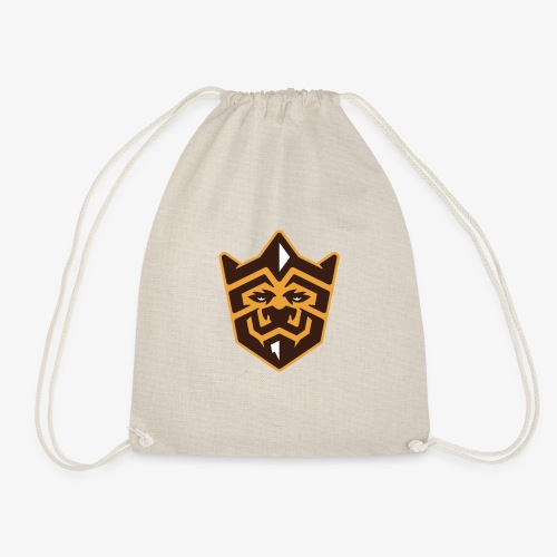 3D Lion Colour - Drawstring Bag