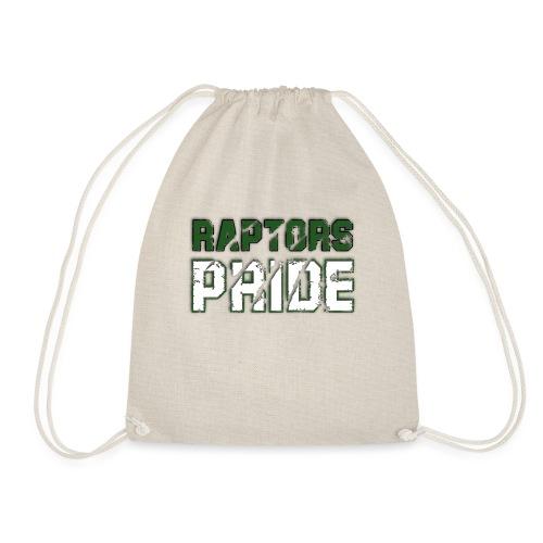 Raptors Pride - grün/weiß - Turnbeutel