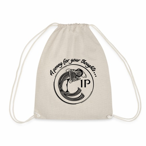 A penny for your thoughts - Drawstring Bag