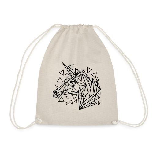 unicornio minimalista - Mochila saco