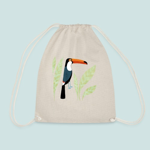 Toucan - Drawstring Bag