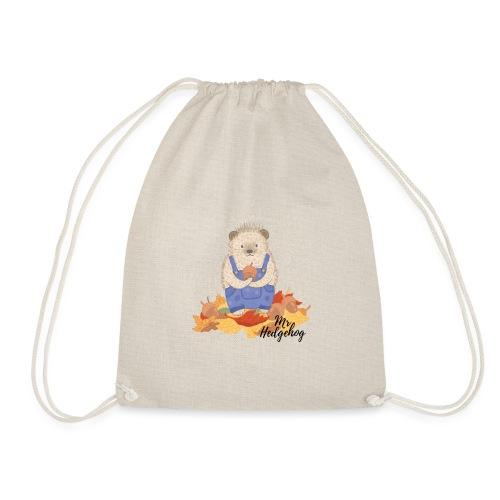 Mr Hedgehog - Drawstring Bag